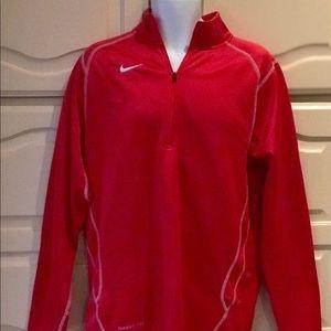 Nike Full ZIP Track Jacket Men's Red Medium